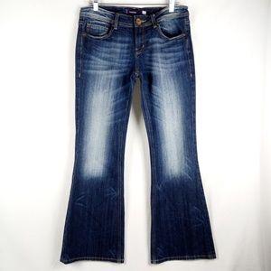 Vigoss Flare Jeans Women's Juniors Size 9 Stretch